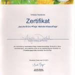Weleda Zertifikat